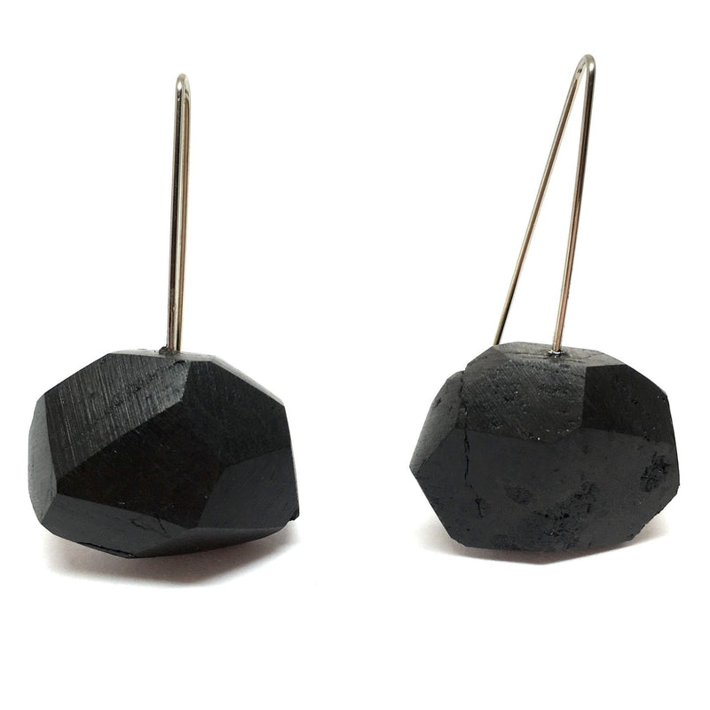 Sophia Emmett - Coal Earrings - Australian made Jewellery