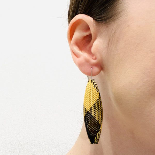 Sophia Emmett — Mesh Cocoon Earrings - Australian made Jewellery