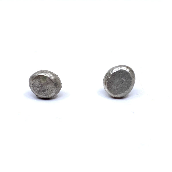 Sunggee Min - Simple Silver Stud Earrings - Australian made Jewellery