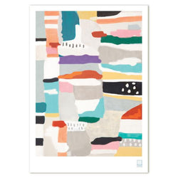 Swiden - A3 'Fields' Print - Australian made Prints