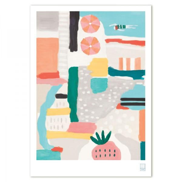 Swiden - A3 'The Pool' Print - Australian made Prints