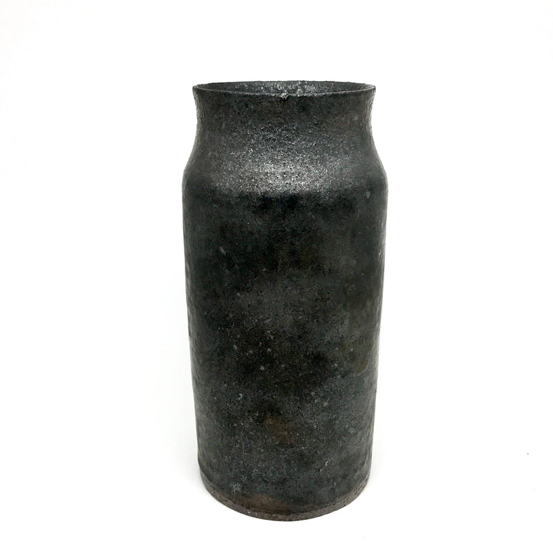 Tara Shackell — Medium Iron Age Bronze Vase - Australian made Ceramics