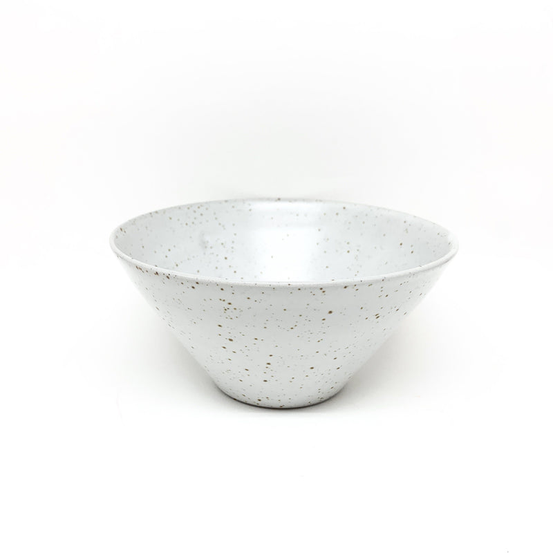 Tara Shackell — Grey Speckle Bowl - Australian made Ceramics