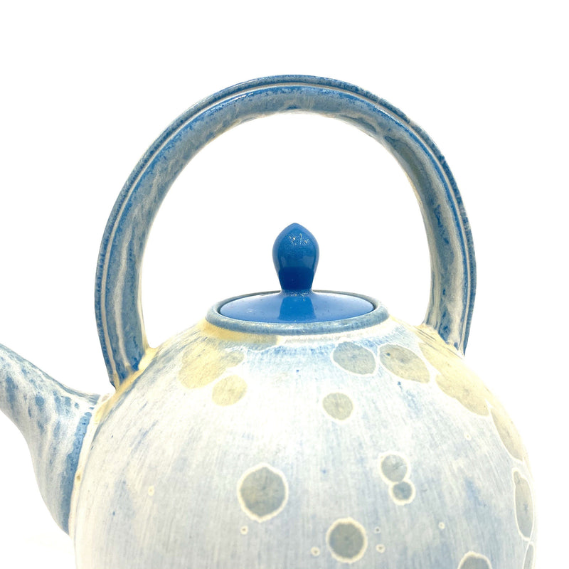 Ted Secombe — Crystalline Glaze Teapot - Australian made Ceramics