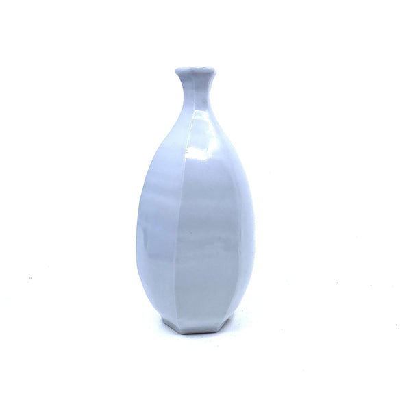 Terunobu Hirata — Faceted Porcelain Bottle | Vase - Australian made Ceramics