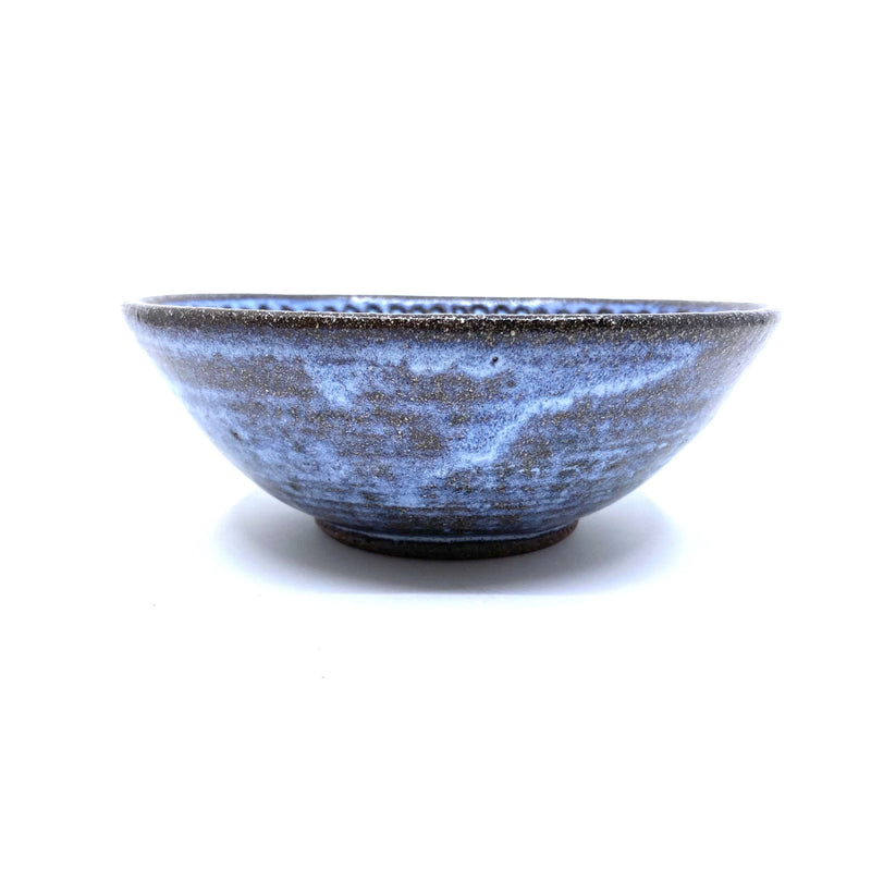 Terunobu Hirata — Fluted Pale Moon Bowl - Australian made Ceramics