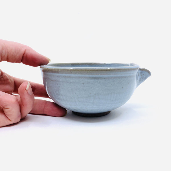 Terunobu Hirata — Pale Blue Bowl | Jug - Australian made Ceramics