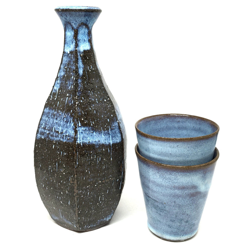 Terunobu Hirata — Tall Pale Moon Bottle - bottle - Craft