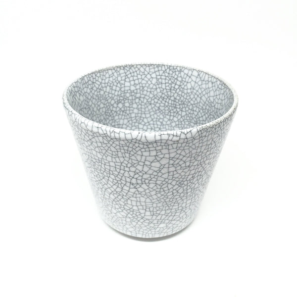 Terunobu Hirata — White Crackle Whisky Cup -  - Craft