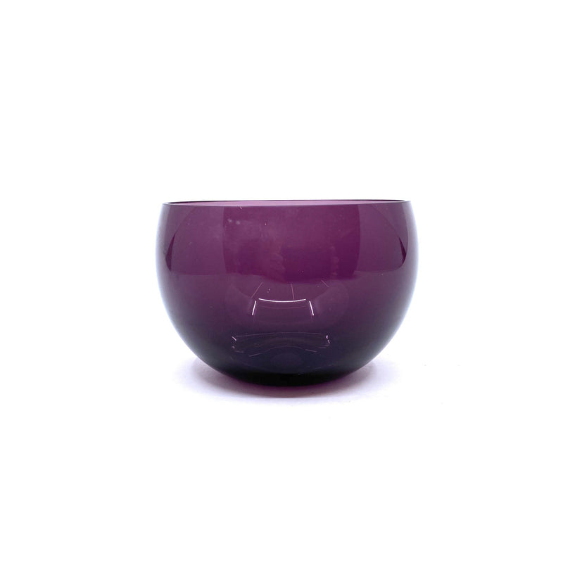 Thomas Yeend Design — Small Glass Gacha Bowl, Purple - Australian made Glass