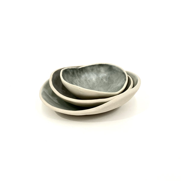 Tracy Muirhead — Set of Pebble Bowls - Australian made Ceramics