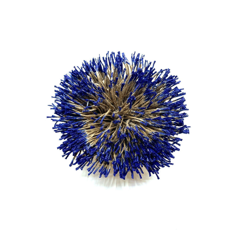 Vicki Mason — Linen Wattle Brooch Jewellery Vicki Mason | Craft