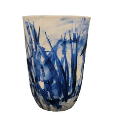 Wendy Jagger — Blue Vase - Australian made vase large
