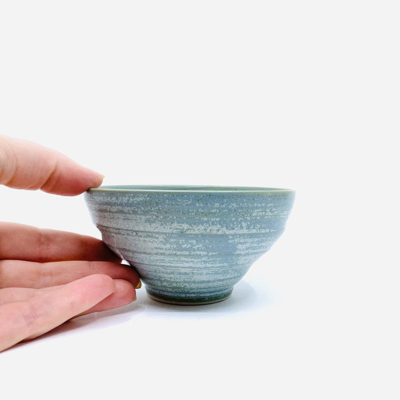 Wendy Jagger — Timbertop Condiment Bowl in Green - Australian made Ceramics