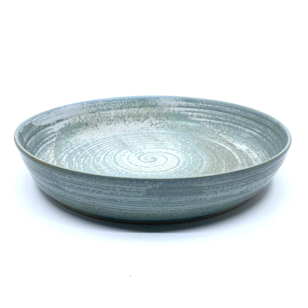 Wendy Jagger — Timbertop Serving | Baking Plate in Blue - Australian made Ceramics