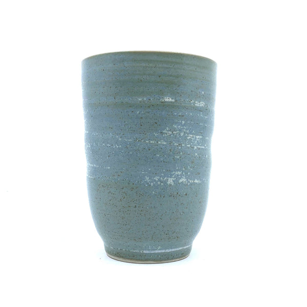 Wendy Jagger — Timbertop Traveller Beaker in Green - Australian made Ceramics