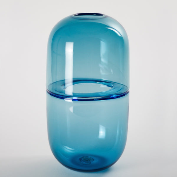 YEEND — 'Sugarpill' Vase in Cobalt Blue Glass YEEND | Craft