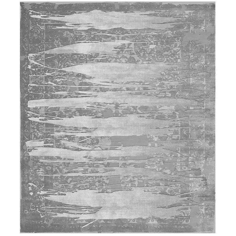 By Second Studio Ascoli Ai7500 Silver Hilo Silk Rug Main Image