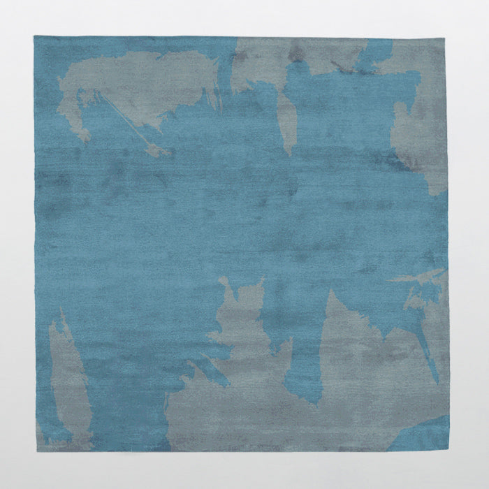 By Second Studio Caccia Cs103 Silver Blue Rug Main Image