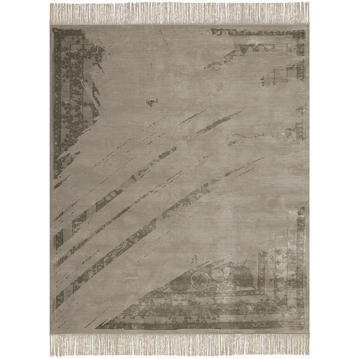 By Second Studio Gazzo Moiano Gm6911 Taupe Silk Rug Main Image