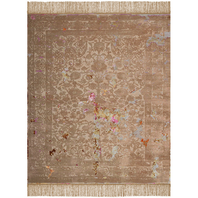 By Second Studio Indigo Modena Im1360 Brown Sugar Silk Rug Main Image