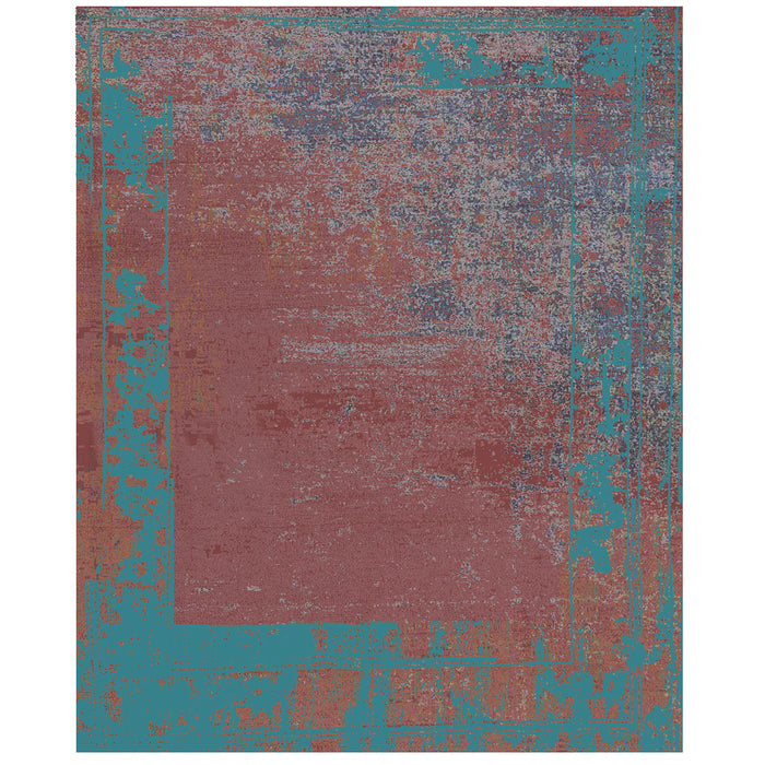 By Second Studio Moschiano Mo157 Mineral Red Rug Main Image