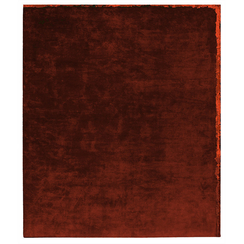 By Second Studio Nester Divine Nd6781 Rusty Orange Silk Rug Main Image