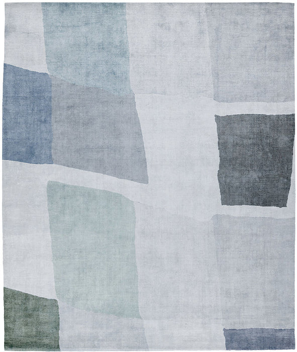 By Second Studio Noto Scalo Ns1301 Illusion Blue Rug Main Image