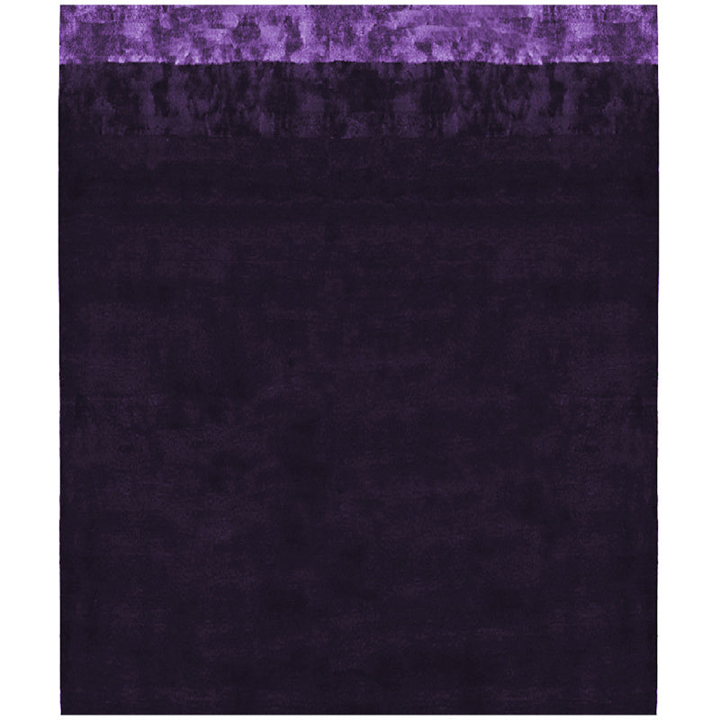 By Second Studio Santa Venere Sv421 Dark Purple Silk Rug Main Image