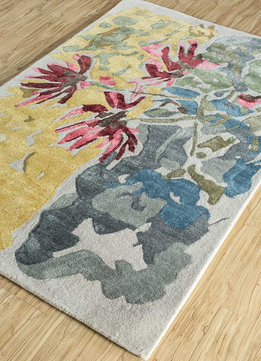 "Hiren Patel x Jaipur Rugs ""A Trek In Barsu"" Reminiscence Rug"