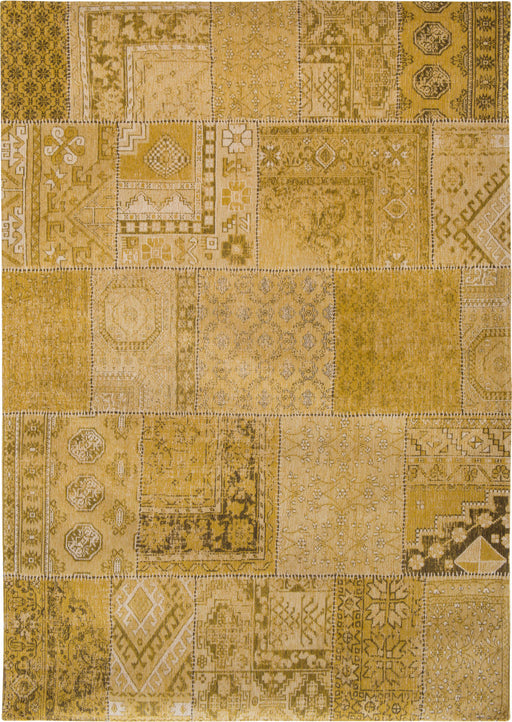 Louis De Poortere Yellow Designer Transitional Rug 2 Main Image