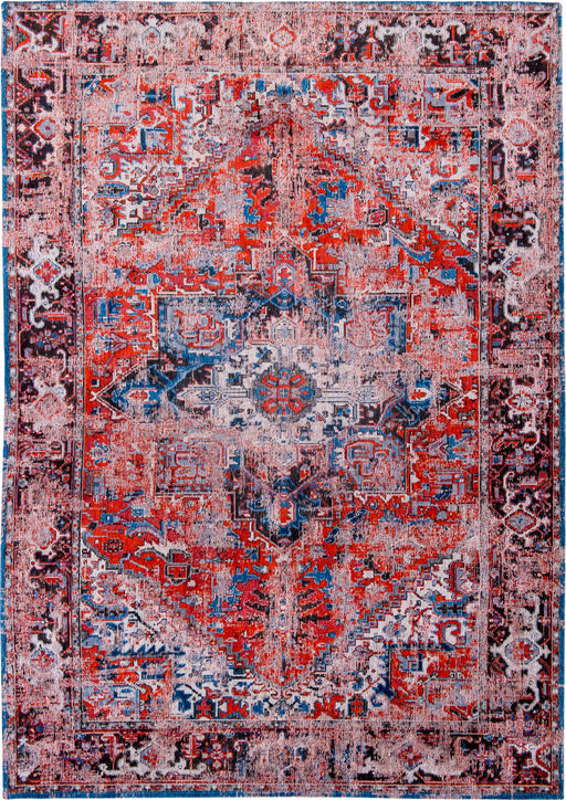 Louis De Poortere Red Designer Traditional Rug Main Image