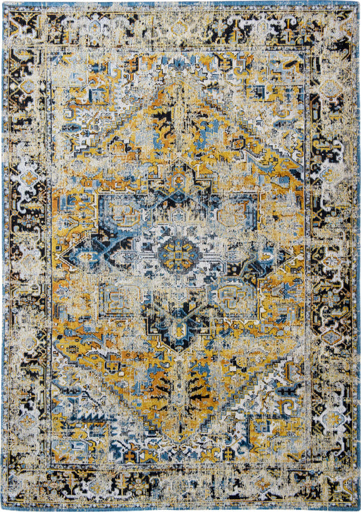 Louis De Poortere Yellow Designer Traditional Rug Main Image