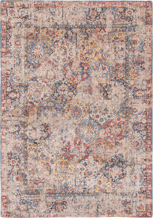 Louis De Poortere Multi-Colored Designer Transitional Rug 2 Main Image