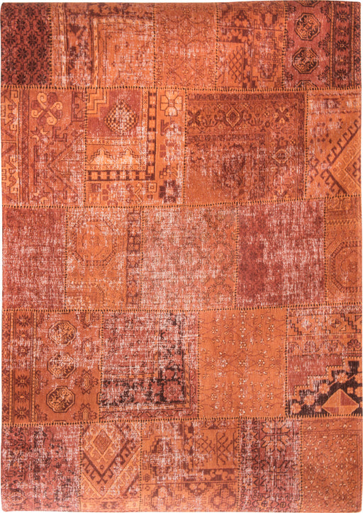 Louis De Poortere Orange Designer Transitional Rug Main Image