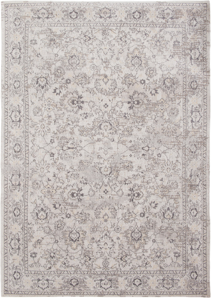 Louis De Poortere White Cotton Wool Rug Main Image