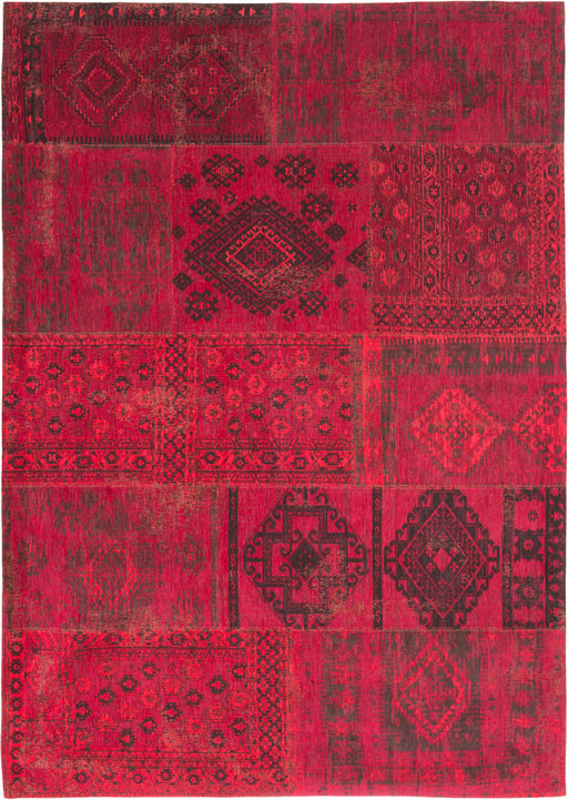 Louis De Poortere Red Cotton Wool Rug Main Image