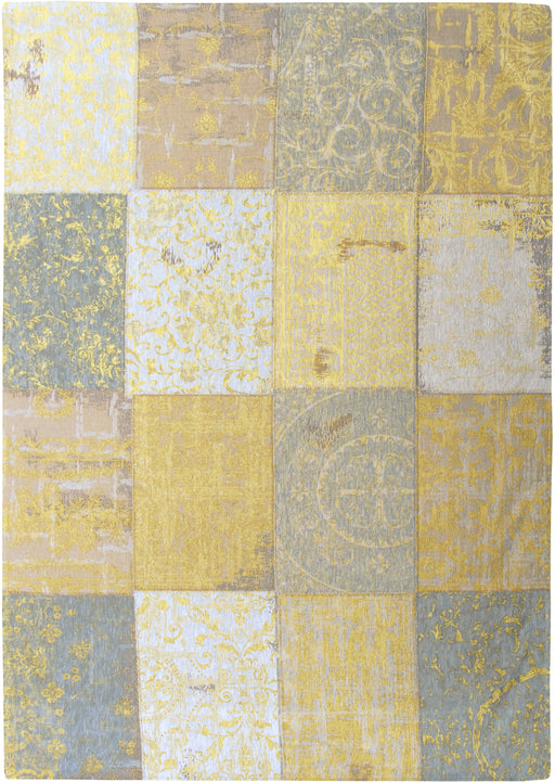 Louis De Poortere Yellow Cotton Wool Rug Main Image