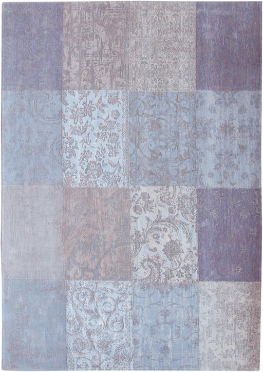 Louis De Poortere Purple Cotton Wool Rug Main Image