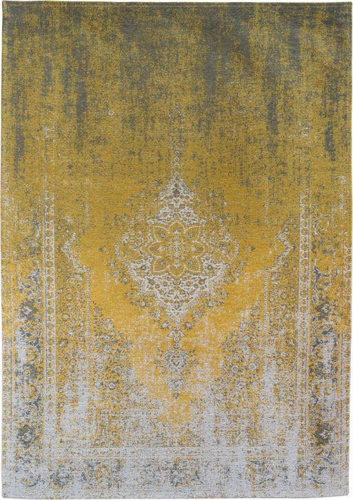 Louis De Poortere Yellow Cotton Rug Main Image