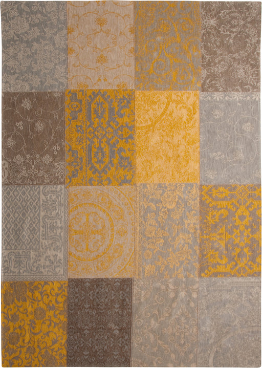 Louis De Poortere Yellow Cotton Rug 2 Main Image