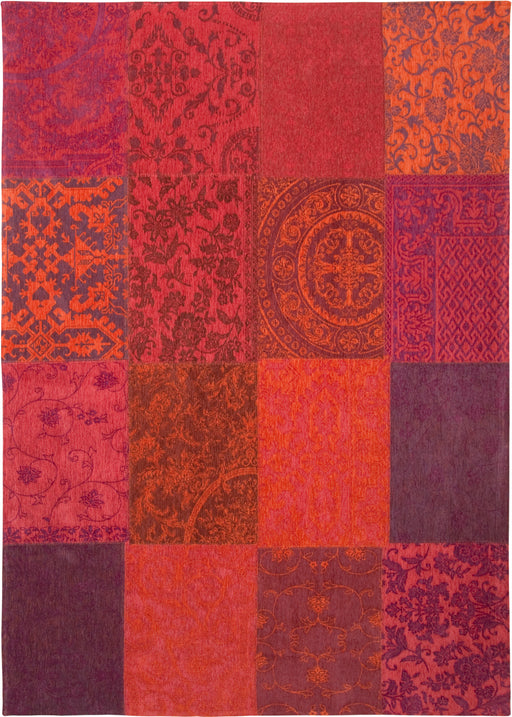 Louis De Poortere Purple Cotton Rug 3 Main Image