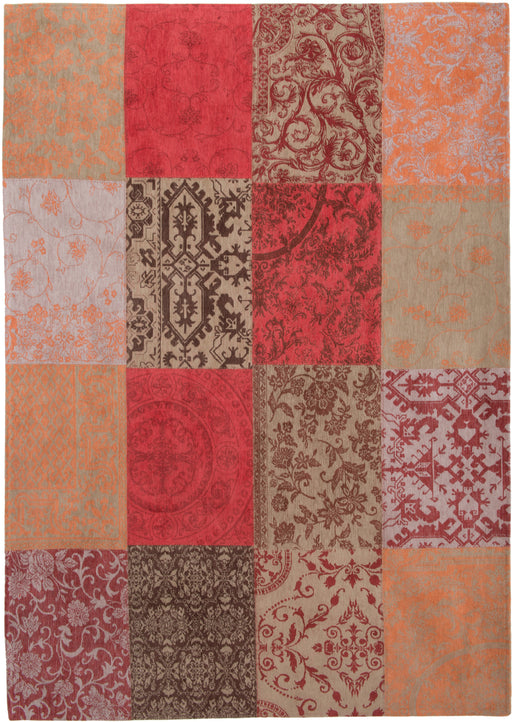Louis De Poortere Red Cotton Rug 4 Main Image