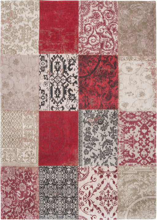 Louis De Poortere Red Cotton Rug 5 Main Image