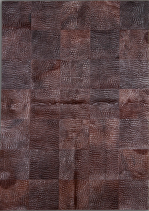Pieles Pipsa Red Cow Hide Designer Rug 9 Main Image