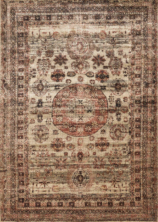 Loloi Anastasia AF-03 Champagne / Multi Synthetic Traditional Rug Main Image