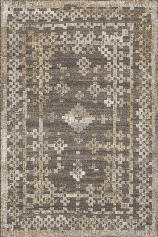 Loloi Akina AK-01 Charcoal / Taupe Patterned Transitional Rug Main Image