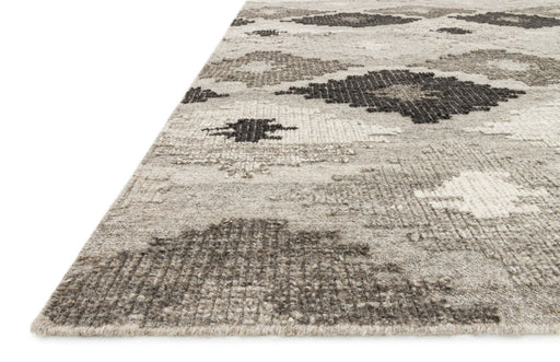 Loloi Akina AK-02 Grey / Charcoal Transitional Wool Rug
