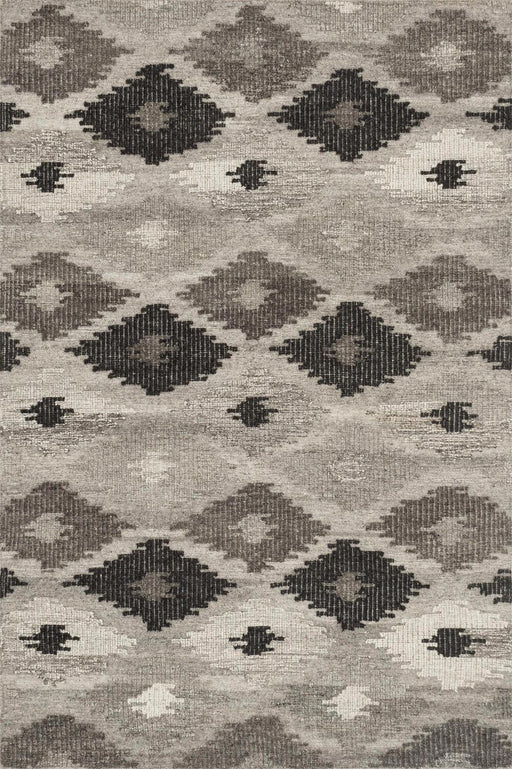 Loloi Akina AK-02 Grey / Charcoal Transitional Wool Rug Main Image