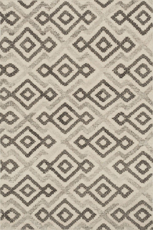 Loloi Akina AK-04 Ivory / Grey Wool Patterned Rug Main Image